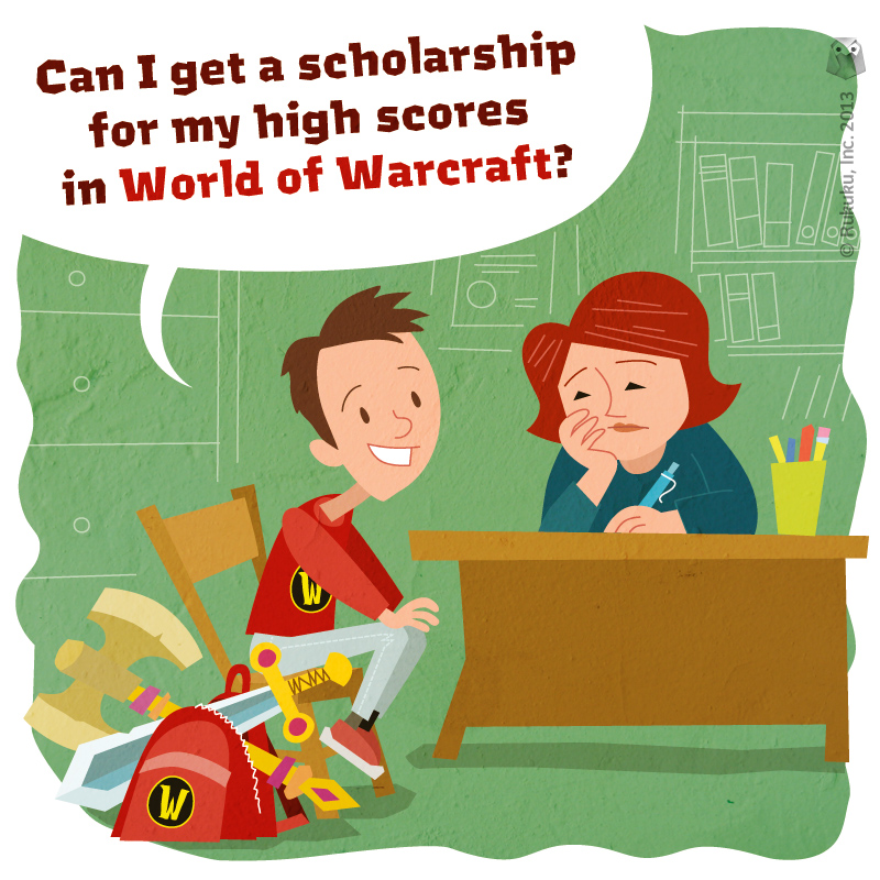 scholarships, video games